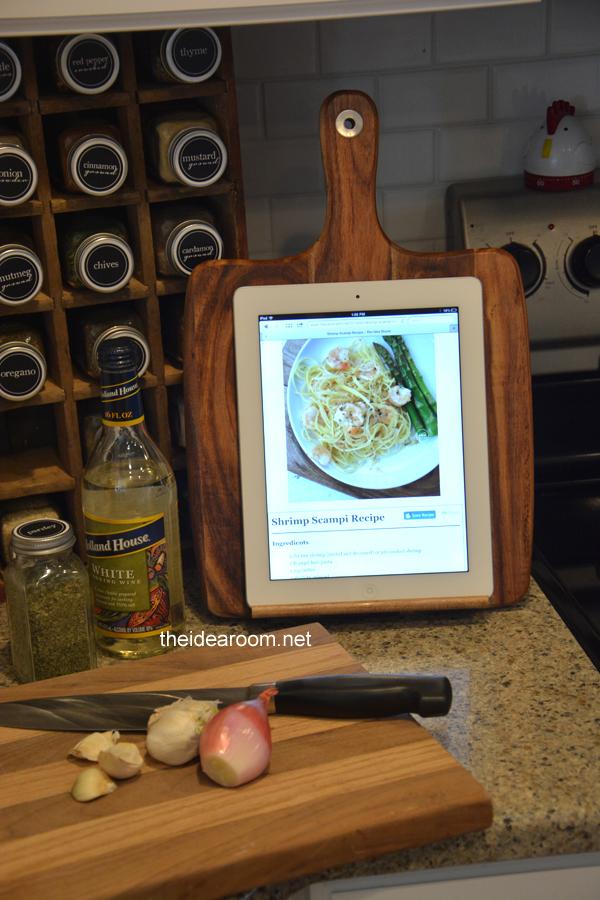 DIY iPad Holder - The Idea Room