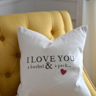 Bushel and A Peck Pillow