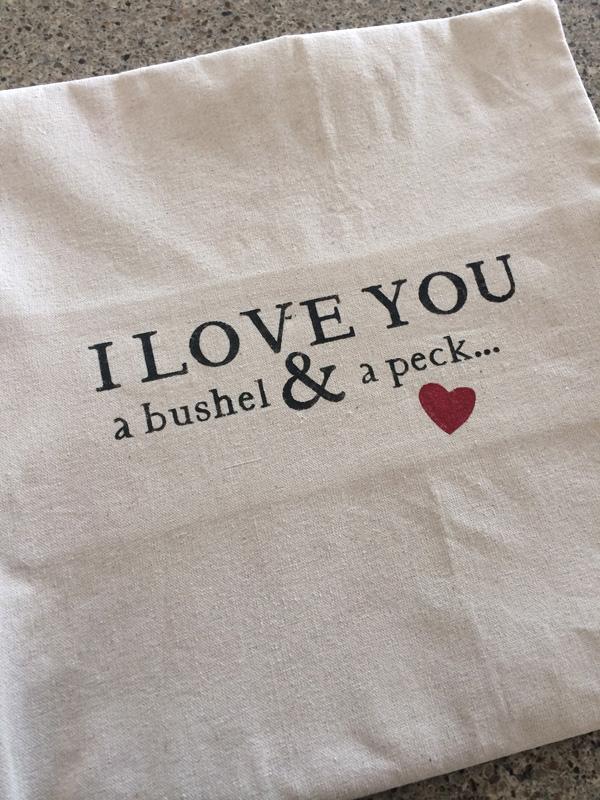 Bushel And A Peck Pillow The Idea Room