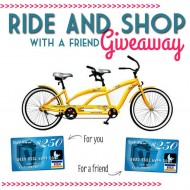 Tandem Bike & $250 Visa Gift Card Giveaway