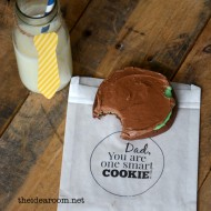 Father's Day Gift –He's One Smart Cookie