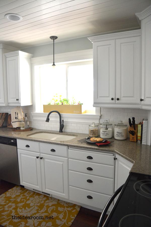 Small Kitchen Large Fridge