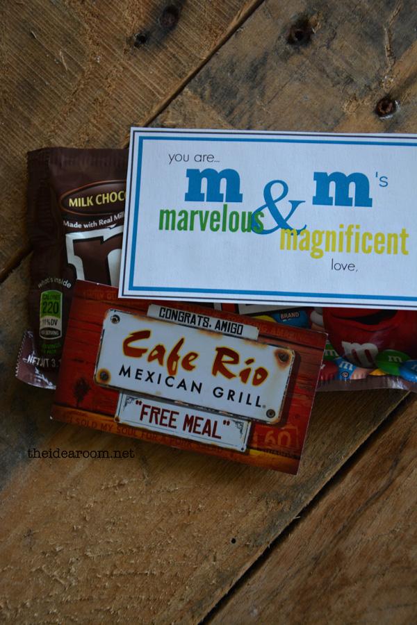 m&m-gift