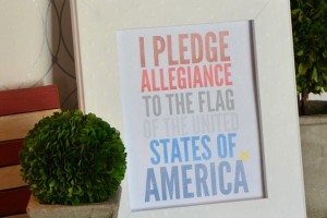 red-white-blue-pledge