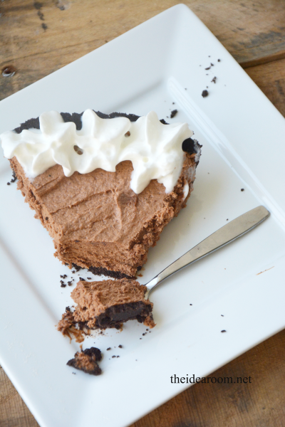 Chocolate-silk-pie