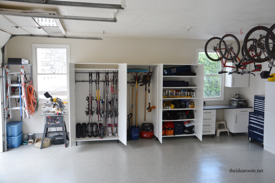 Garage Organization & Giveaway - The Idea Room
