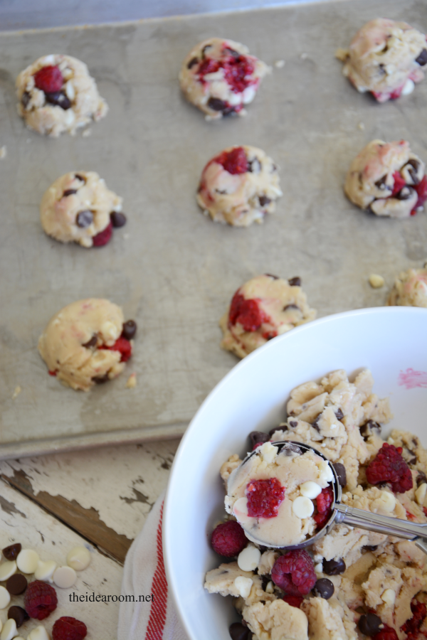 Chocolate-Raspberry-cookies