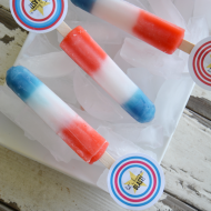 Fourth of July Printable Popsicle Tags