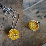 Rose Ring & Rose Necklace Tutorial