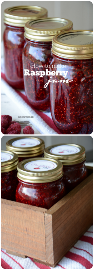 Raspberry Jam Recipe without Pectin - The Idea Room