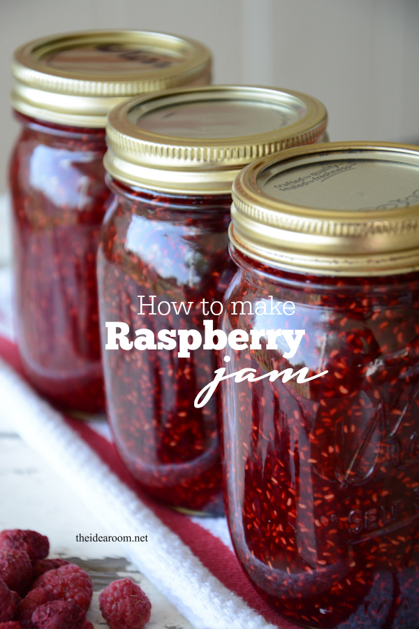 Raspberry Jam Recipe Without Pectin The Idea Room