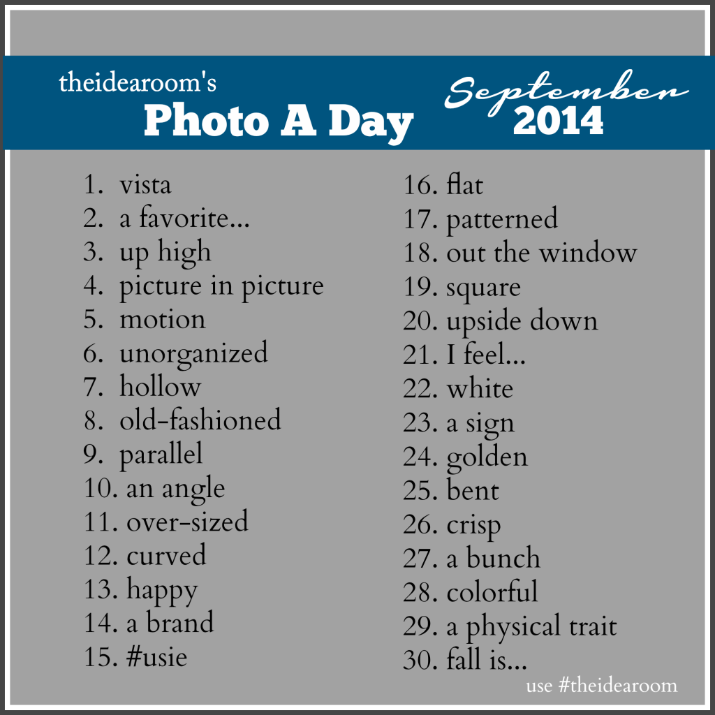 September Photo A Day 2014