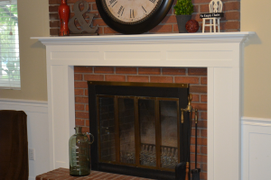 fireplace-mantel after