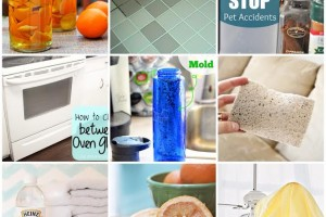 25 Cleaning Tips theidearoom.net