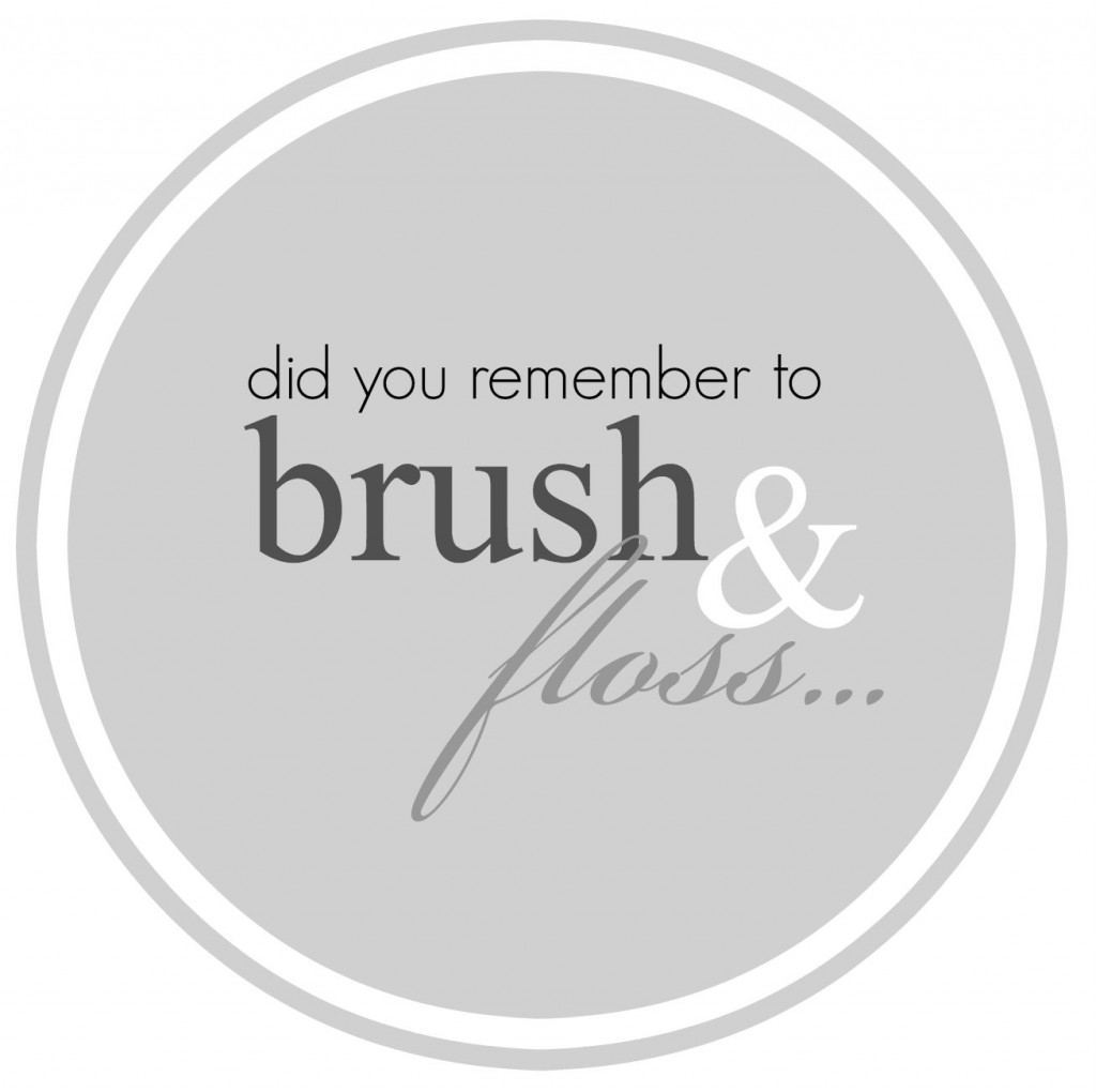 Brush and Floss Tag
