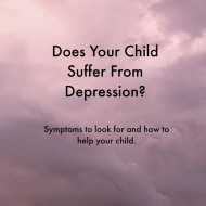 How to Recognize Depression in Children