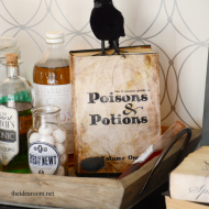 Halloween Printable: Potions Book