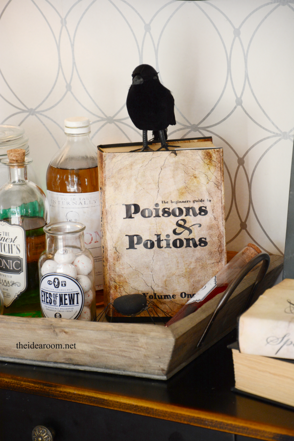Halloween Printable Potions Book The Idea Room
