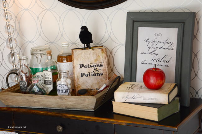 DIY Halloween Potion Book