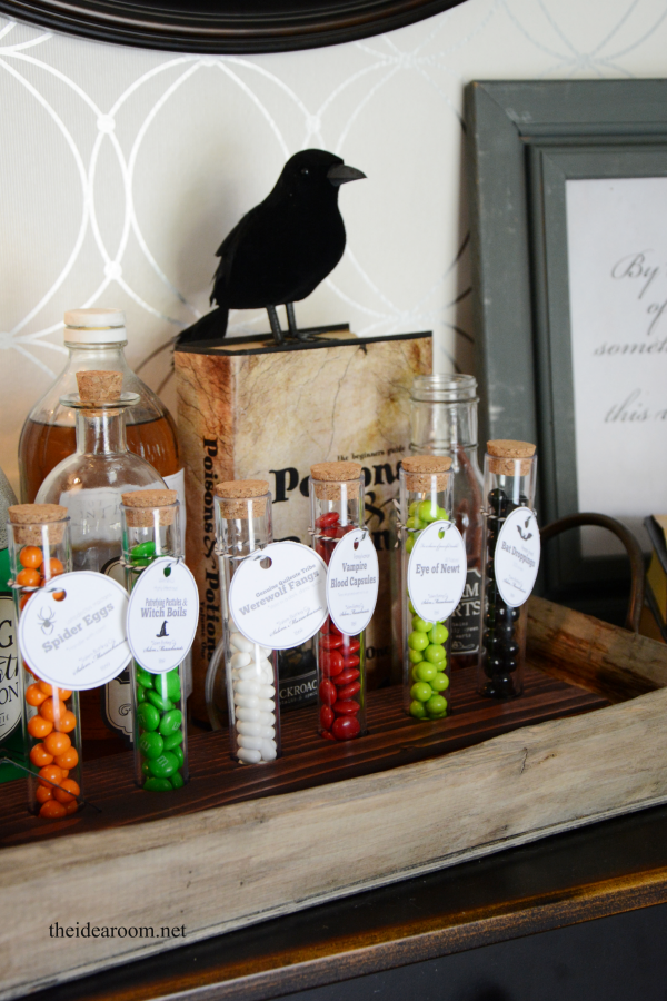 Halloween Potion Ingredient Tags