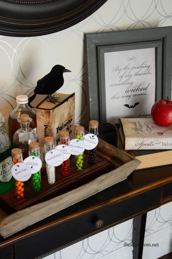 Halloween Potion Ingredient Tags
