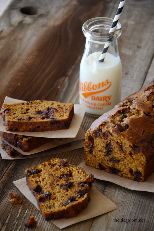 Pumpkin-Chocolate-Chip-Bread