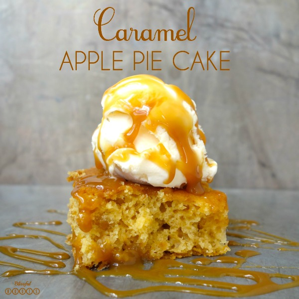 carmel apple pie cake