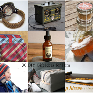 30 DIY Gift Ideas for Him a