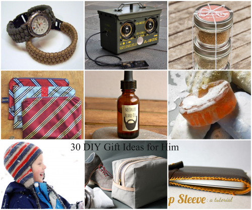 a0fa55b11125 Best DIY Gifts for Him - The Idea Room