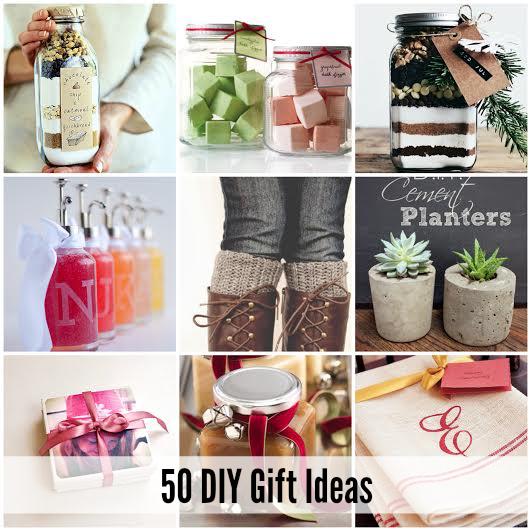 Best Christmas Gift Ideas: 50 Of The BEST DIY Gift Ideas