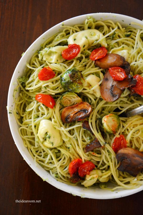 Basil Pesto Pasta 1