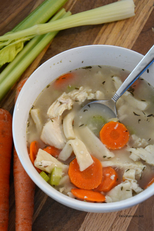 Chicken Noodle Soup 6