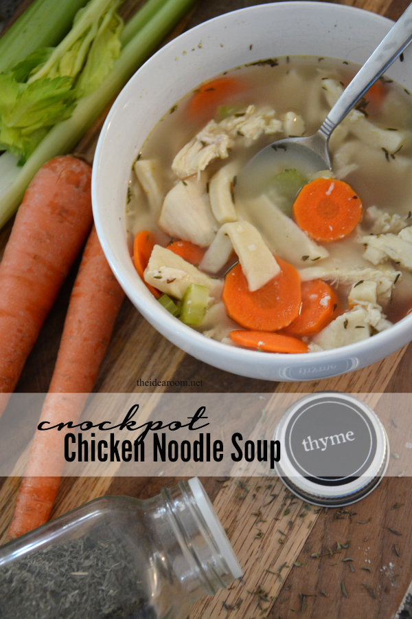 Crockpot Chicken Noodle Soup cover