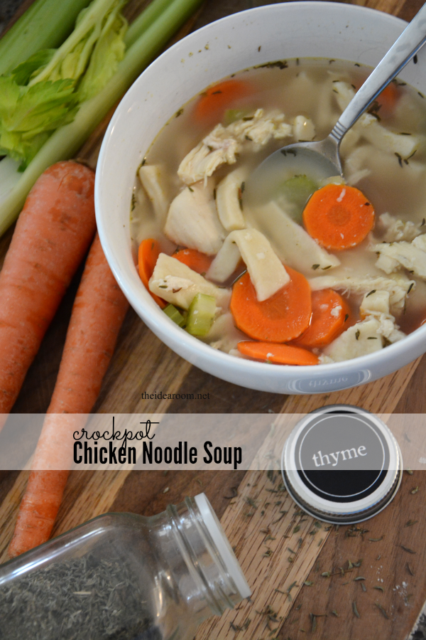 Crockpot Chicken Noodle Soup cover