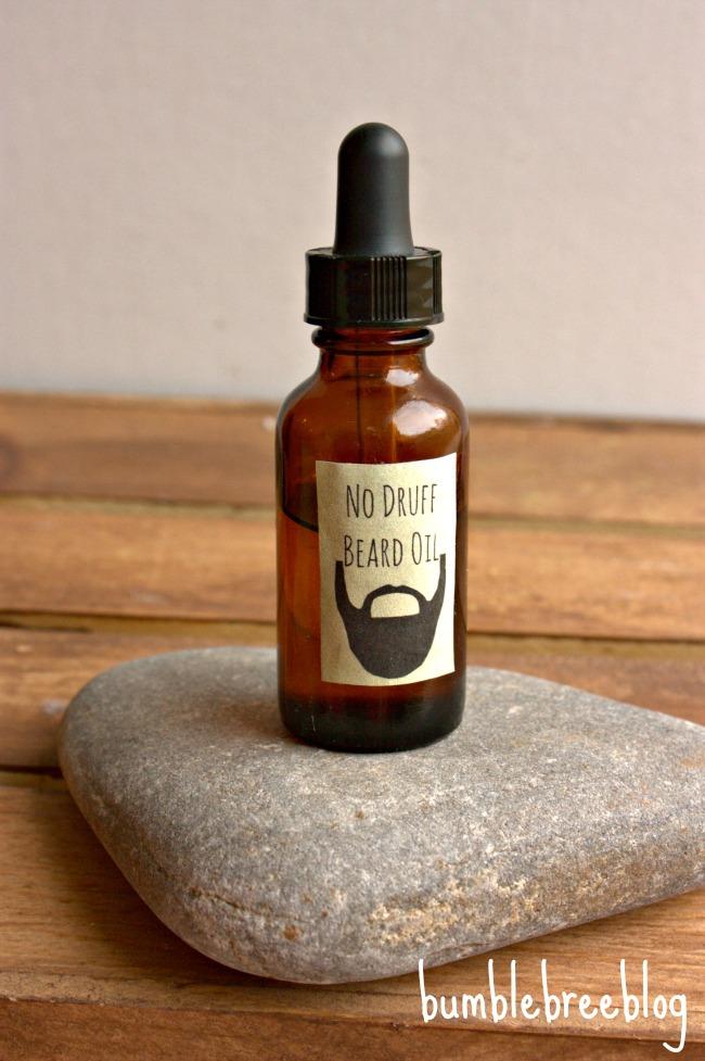 DIY druff beard oil
