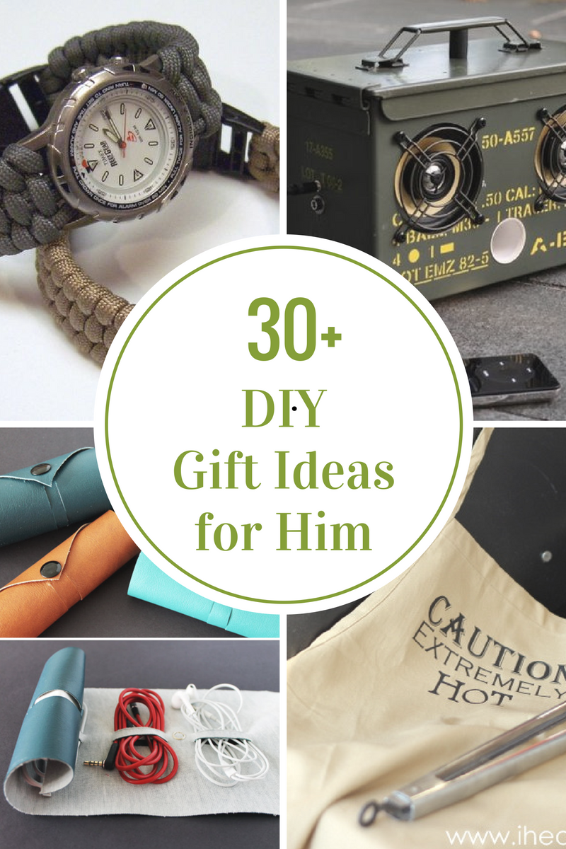 Best DIY Gifts for Him - The Idea Room