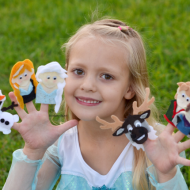 Frozen Finger Puppet Patterns