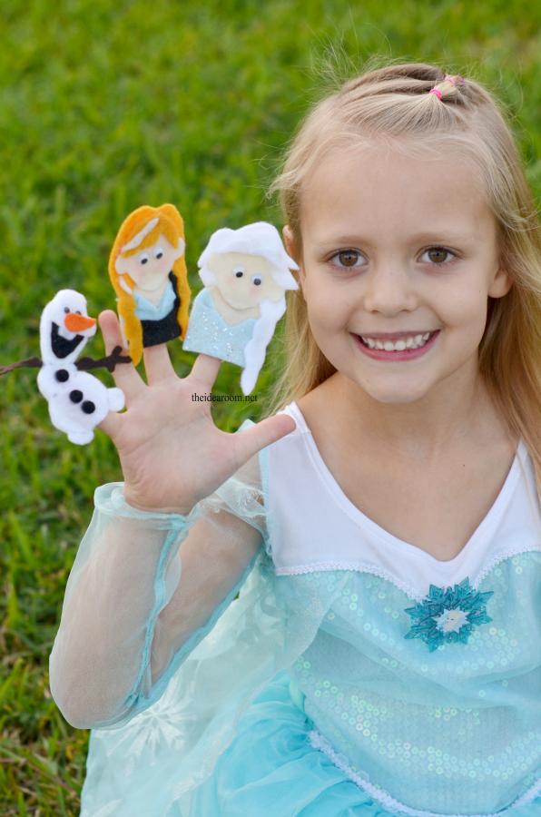 Frozen Finger Puppets 2