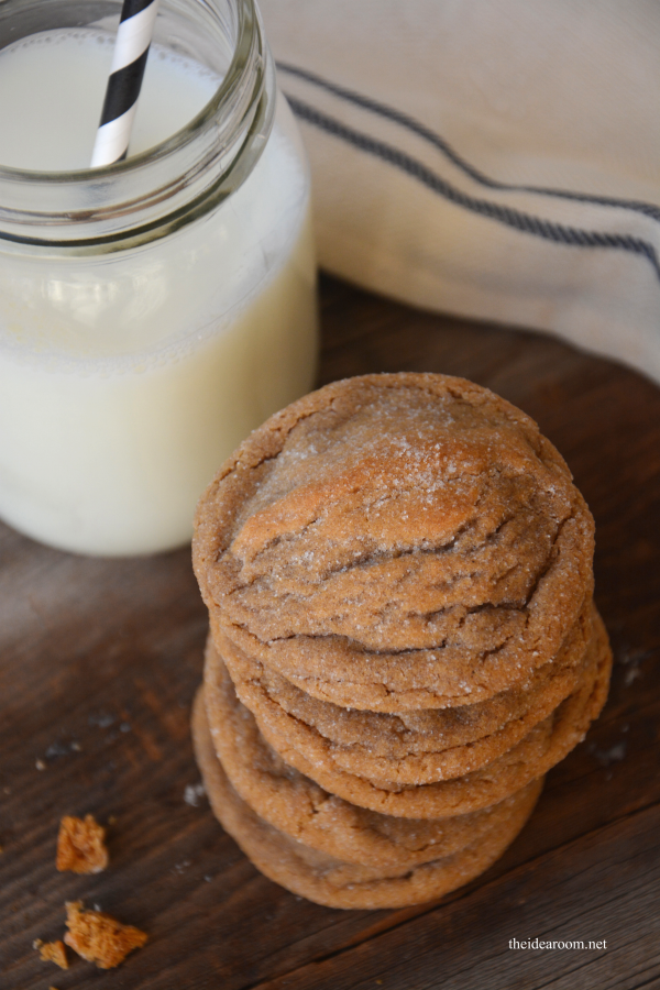 Ginger Molasses Cookies 1