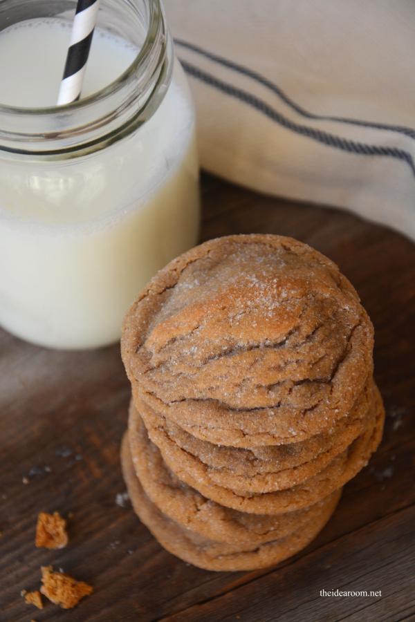 Ginger Molasses Cookies 1