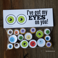Halloween Eyeball Treats