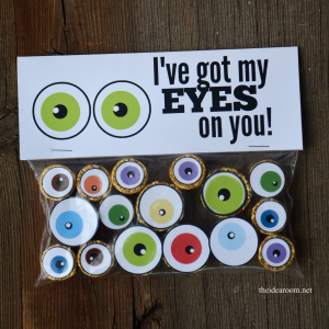 Halloween Eyeballs square