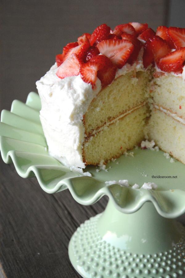 White Cake Recipe 2