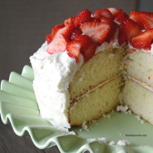 White Cake Recipe cover