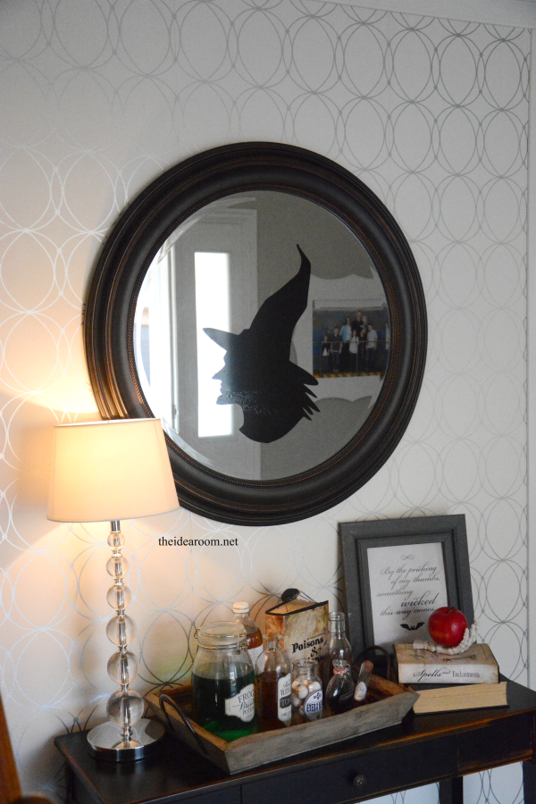 Witch Silhouette Mirror 2