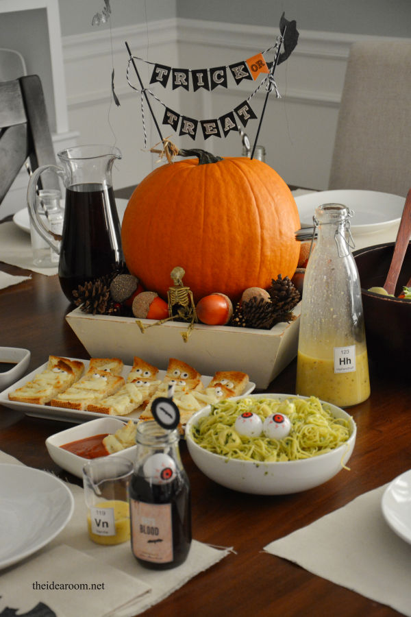 halloween dinner 3