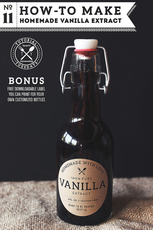 Homemade Vanilla Extract Recipes — Dishmaps