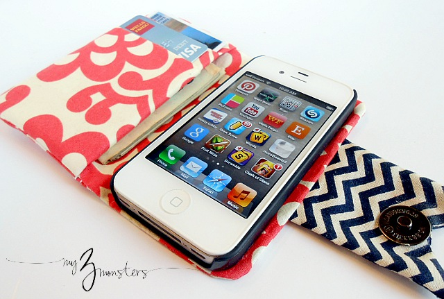 iPhone wallet DIY