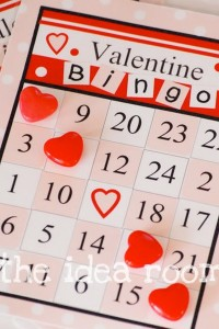 Valentine Bingo Cards post   Printable Bingo Cards  Blank Valentine Bingo Card