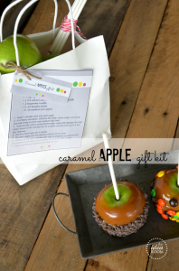 Caramel Apple Gift Kits Printable Template